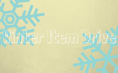 Winter Item Drive