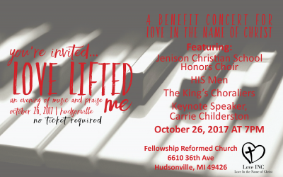 Love Lifted Me: An Evening of Music & Praise